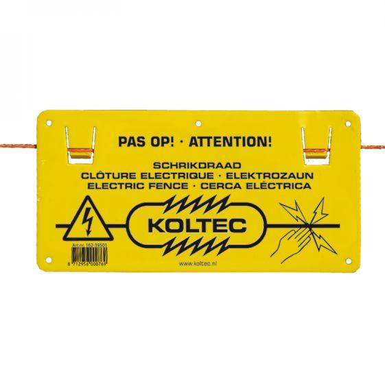 Warnschild Elektrozaun,einzeln