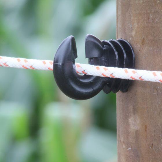 Seil geflochten, weiß 6mm