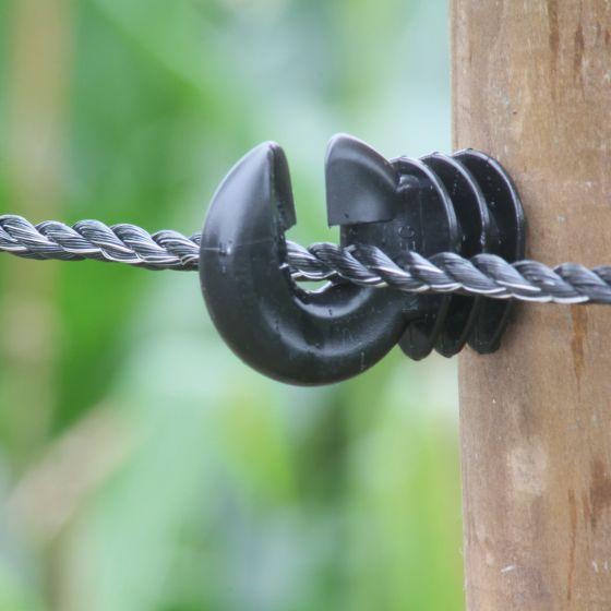 Seil, schwarz, 6 mm