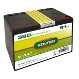 Batterie 9 Volt - 380 Wh 55 Ah