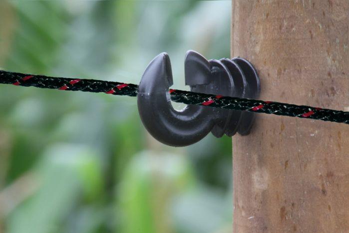 Seil 6mm braided schwarz 200m